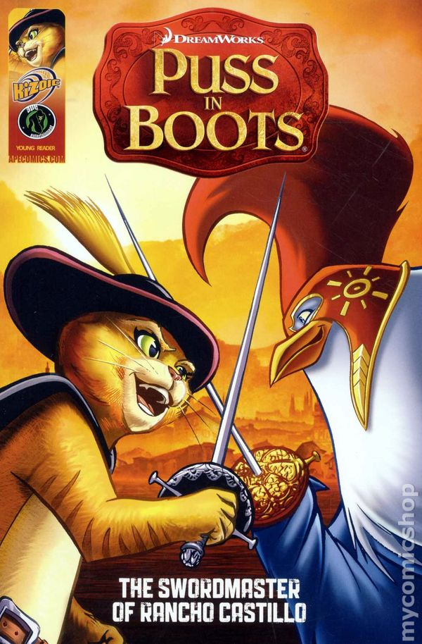 Puss In Boots The Swordmaster Of Rancho Castillo Gn 2011 Comic Books