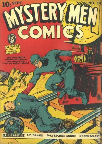 Mystery Men Comics (1939) comic books