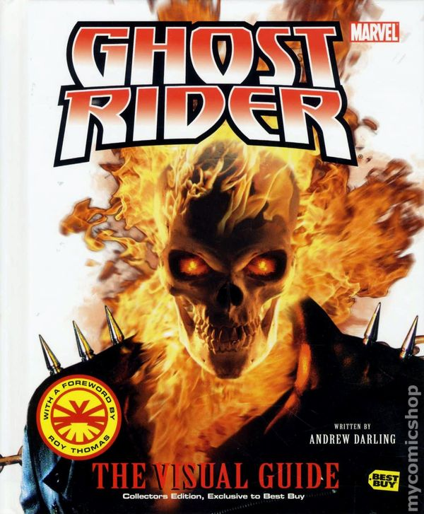 Ghost Rider The Visual Guide HC 2007 Best Buy Edition Comic Books
