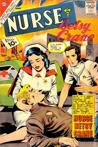Nurse Betsy Crane 1961 Comic Books