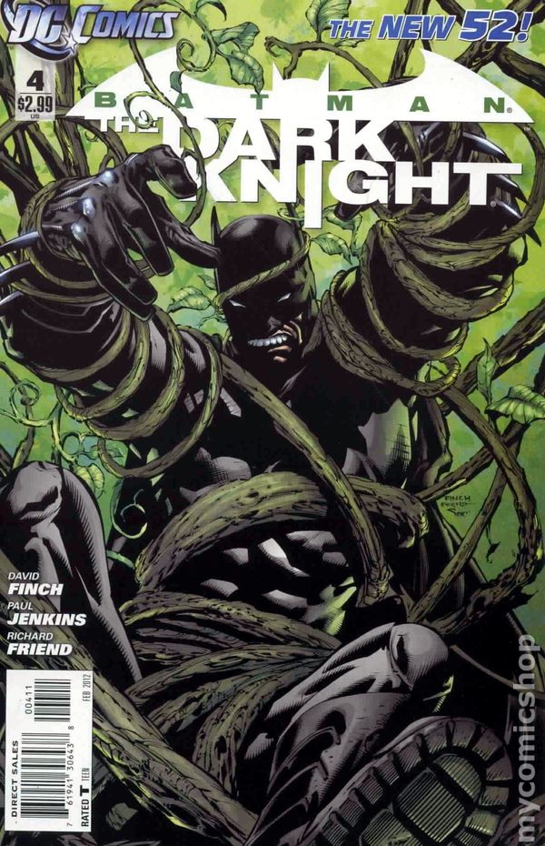VF//NM DC BATMAN 2011 THE DARK KNIGHT #5