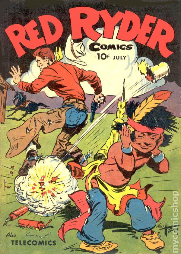 Red Ryder Comics 1941 Comic Books