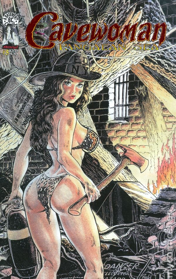 Cavewoman Pangaean Sea (2000) comic books 2002-2004