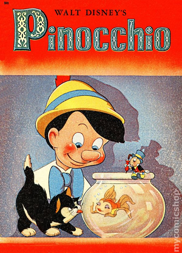 walt disneys pinocchio 1939 1940 comic books