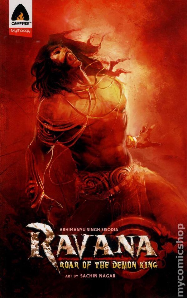 ravana roar of the demon king gn  2011 campfire  comic books