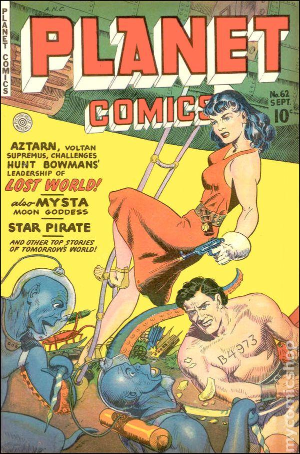 Planet Comics comic books issue 62