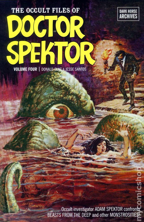 Occult Files of Doctor Spektor Archives HC (2010-2012 Dark Horse) 2-1ST NM