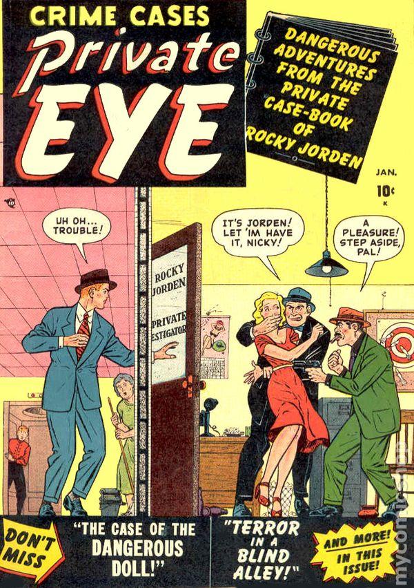 Private Eye Comic Books Issue 1