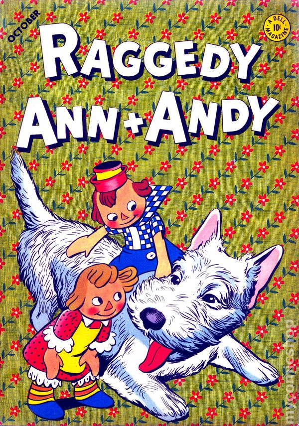 Raggedy Ann and Andy 1946 Dell 1st Series comic books