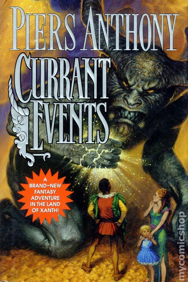 Currant Events HC (2004 A Xanth Novel) comic books