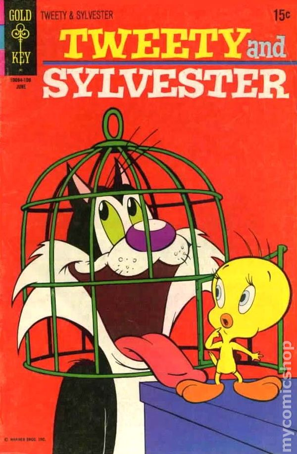 tweety and sylvester 1963 gold key comic books