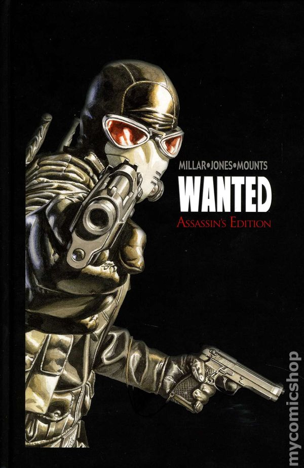 Comic Book Cover Artist Wanted : Wanted hc top cow assassin s edition comic books