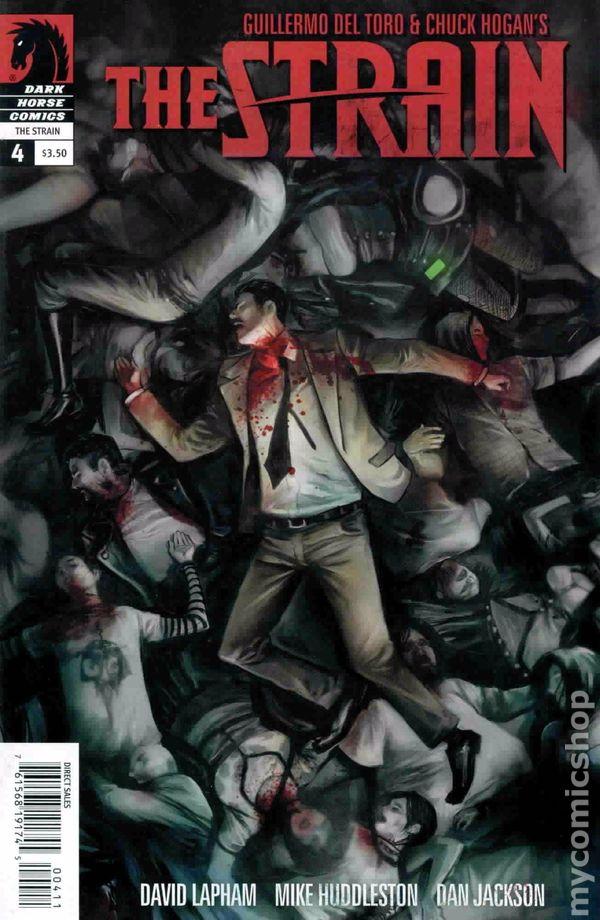 Strain Comic Books Issue 4
