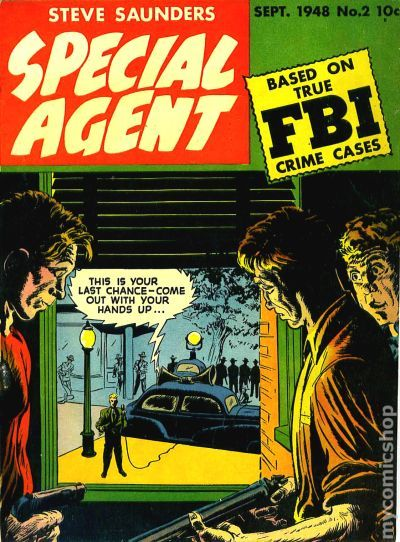 special agent  1947  comic books