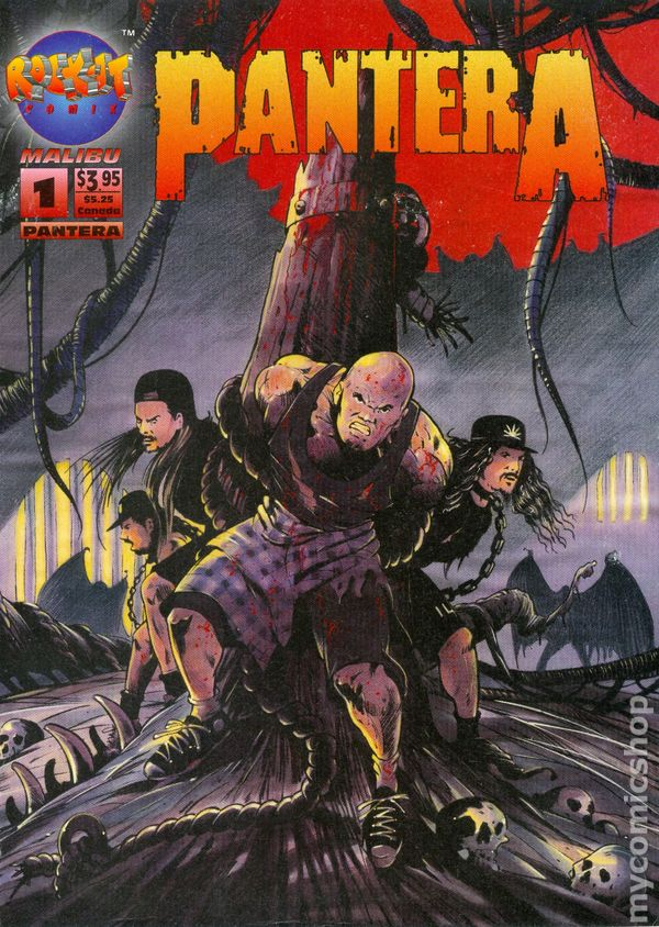 pantera  1994  comic books