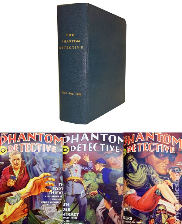 Phantom Detective Bound Volumes 1939