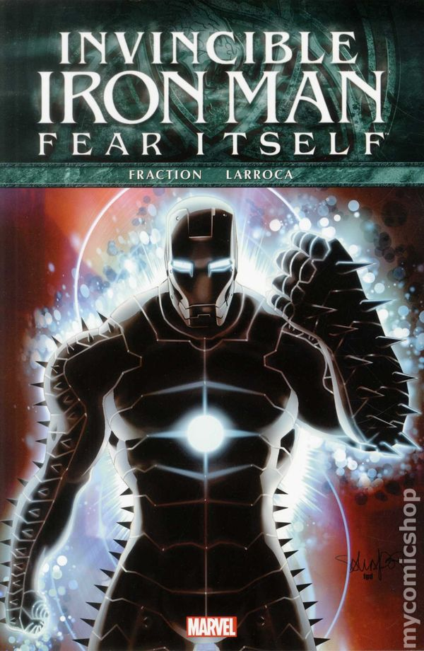 05d100bbce5c3 Fear Itself Invincible Iron Man HC (2012 Marvel) 1-1ST