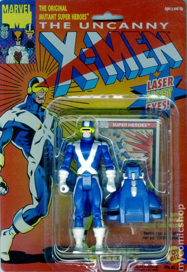 Uncanny X Men Action Figure 1991 Toy Biz Comic Books