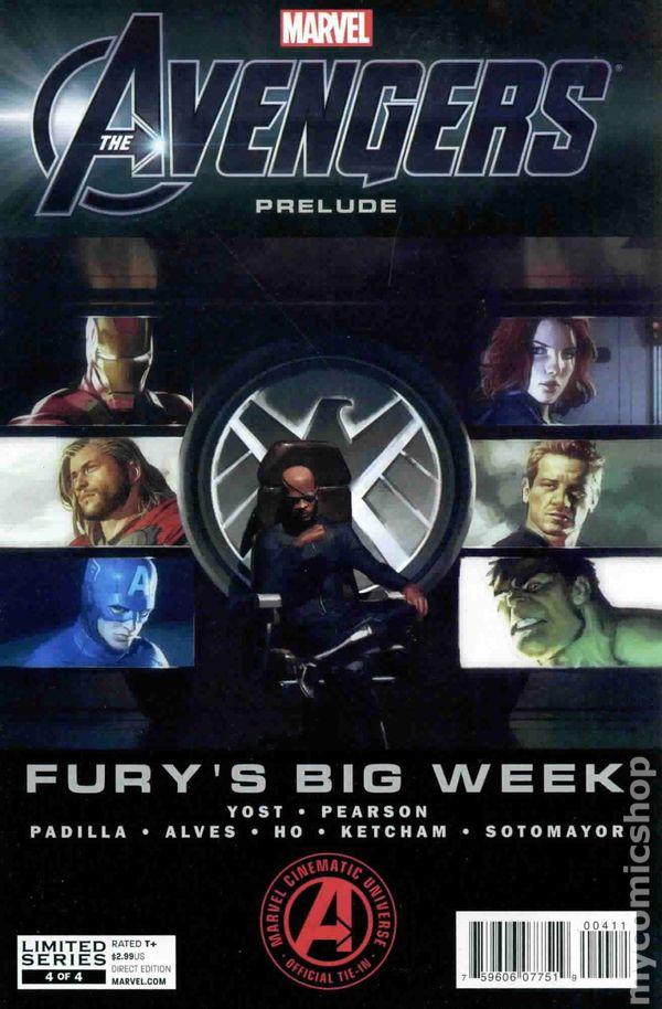 Avengers Prelude Fury's Big Week (2012 Marvel) comic books