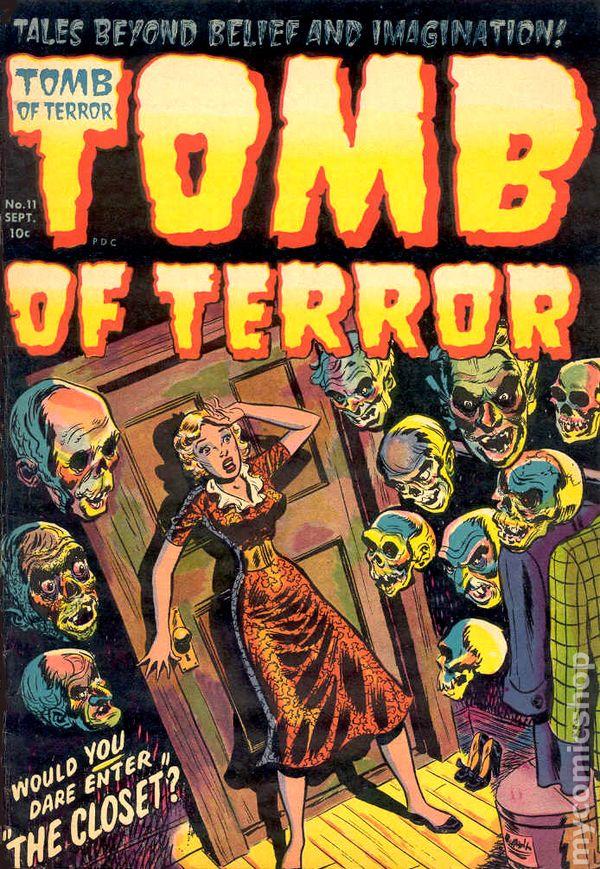 Tomb of Terror (1952) comic books