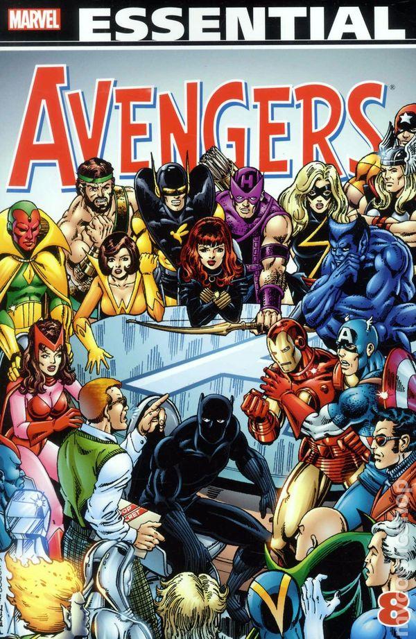 Essential Avengers Tpb 1998 Marvel 1st Edition Comic Books