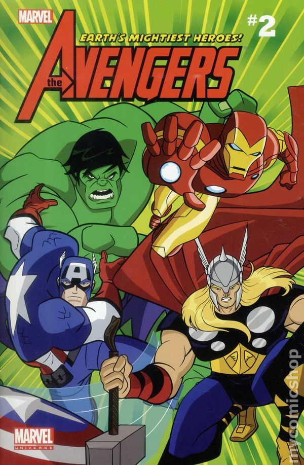 Avengers earth 39 s mightiest heroes comic reader tpb 2012 marvel universe comic books - Heros avengers ...
