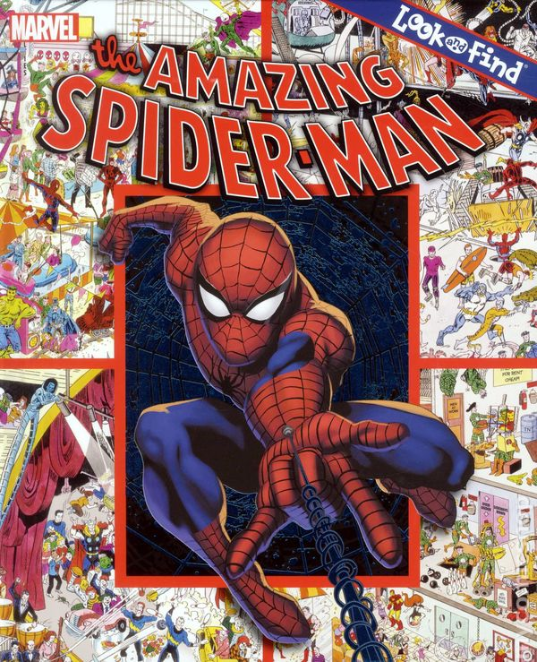 Free Comic Book Day Amazing Spider Man: Amazing Spider-Man Look-and-Find HC (2012) Comic Books