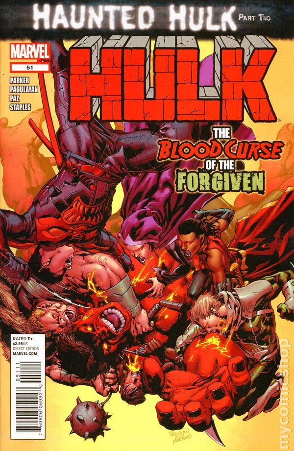 Hulk #53 August 2012 Marvel 2008 Series