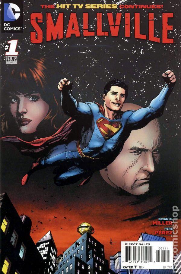 Smallville Comic Books Issue 1