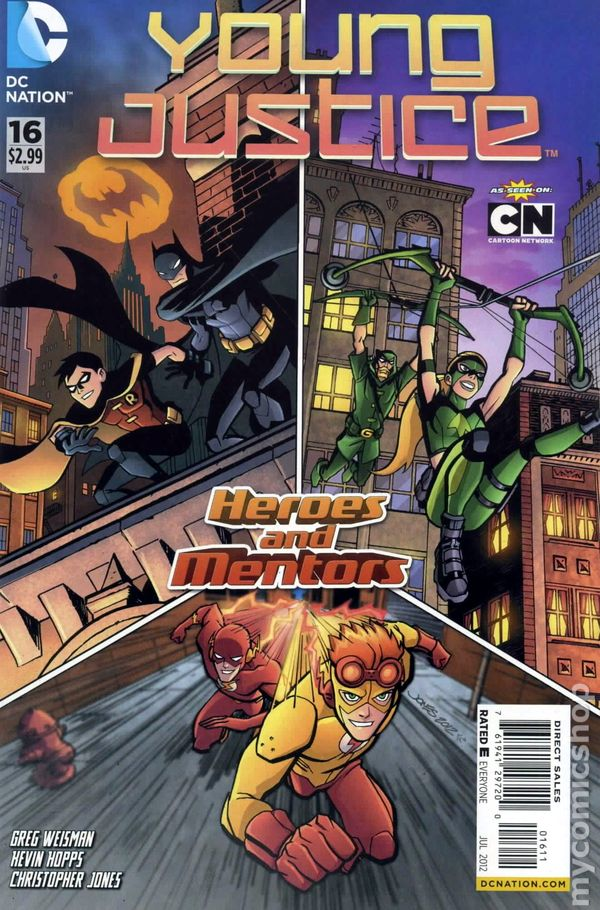 Young Justice (2011 DC 2nd Series) comic books