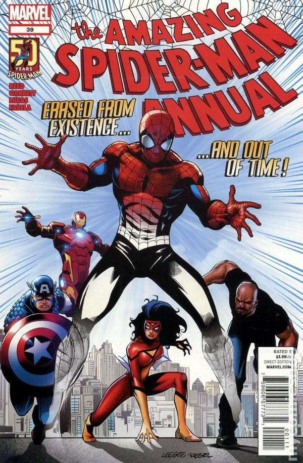 Sensational Spider-Man #39 FN 2007 Stock Image
