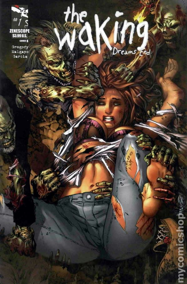 The Waking Zenescope horror comic Dreams End #3 3A cover