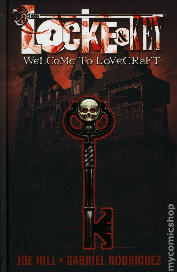 Locke And Key Hc 2008 2014 Idw Comic Books