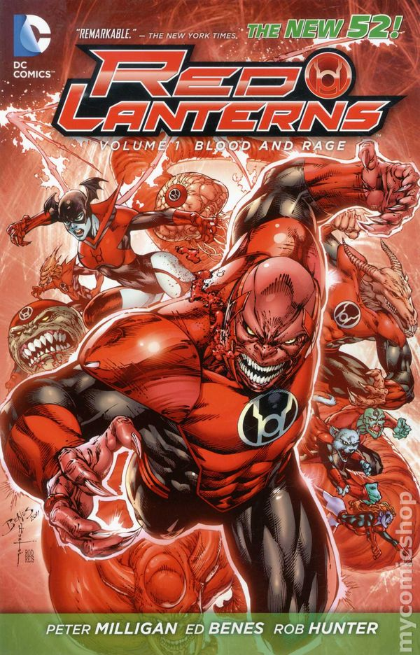 Red Lanterns TPB 2012 2015 DC Comics The New 52 Comic Books
