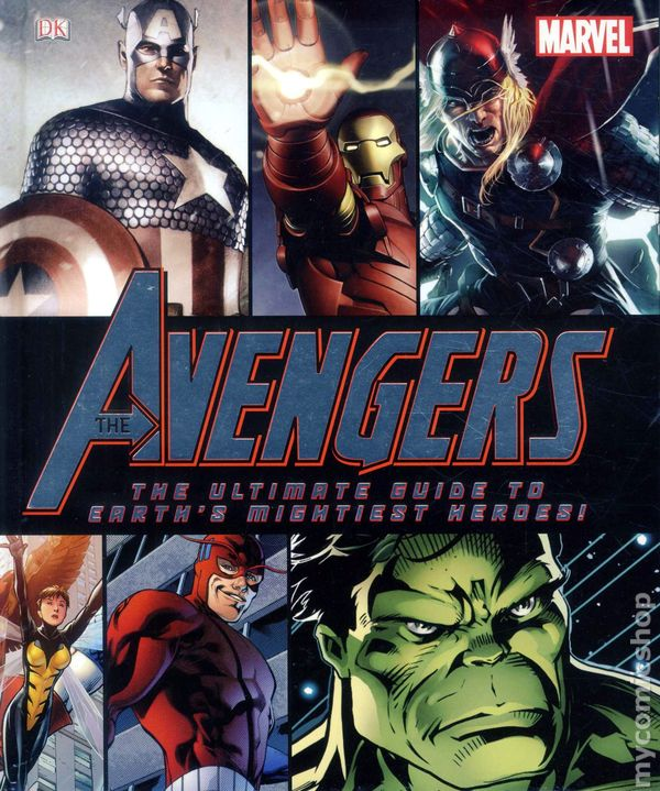 8a550f8d6bd Avengers The Ultimate Guide to Earth's Mightiest Heroes HC (2012 DK ...