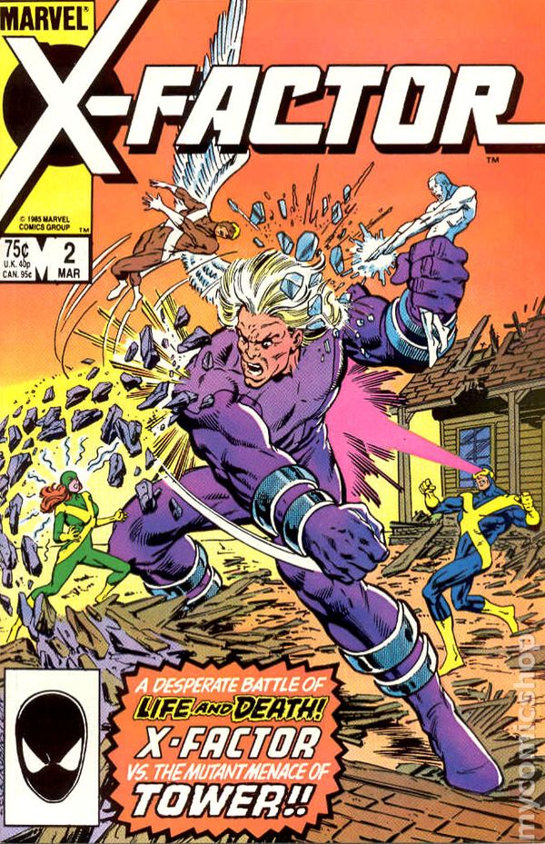 9.2 1986 Series #48 December 1989 Marvel NM X-Factor