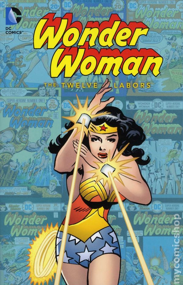 Wonder Woman The Twelve Labors Tpb 2012 Dc Comic Books-4567
