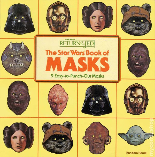 Star Wars Return Of The Jedi The Star Wars Book Of Masks Sc 1983 Comic Books