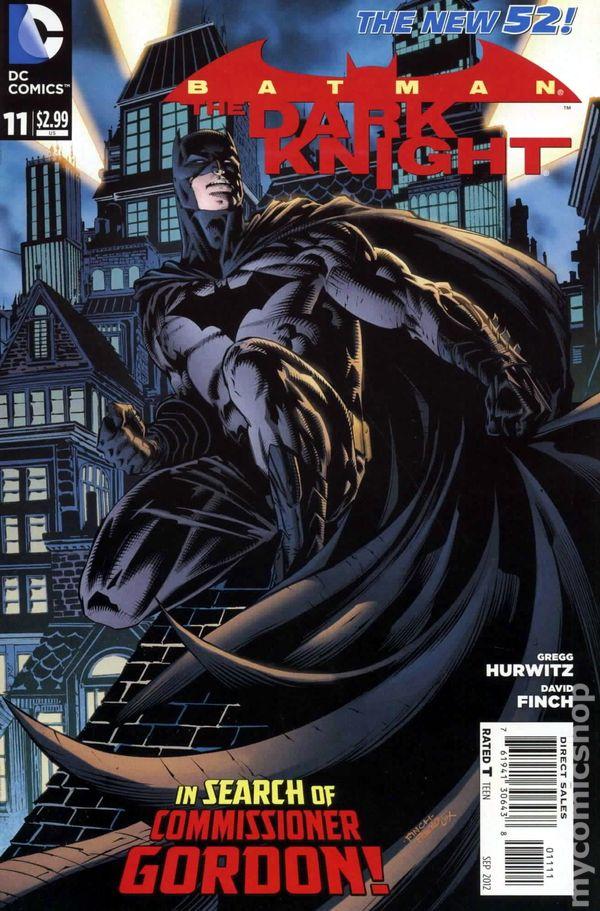 Batman The Dark Knight #11A VF 2012 Stock Image