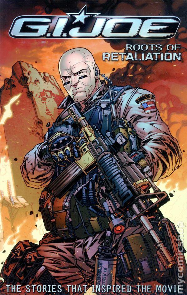gi joe roots of retaliation tpb 2012 idw comic books