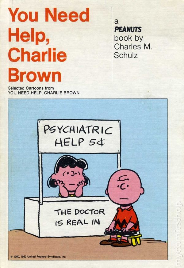 Need Help With Bi Level Exterior And Curb Appeal: You Need Help, Charlie Brown HC (1965 A Peanuts Book
