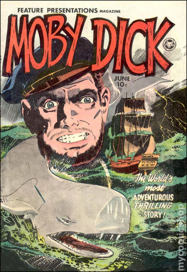 Image result for moby dick comics