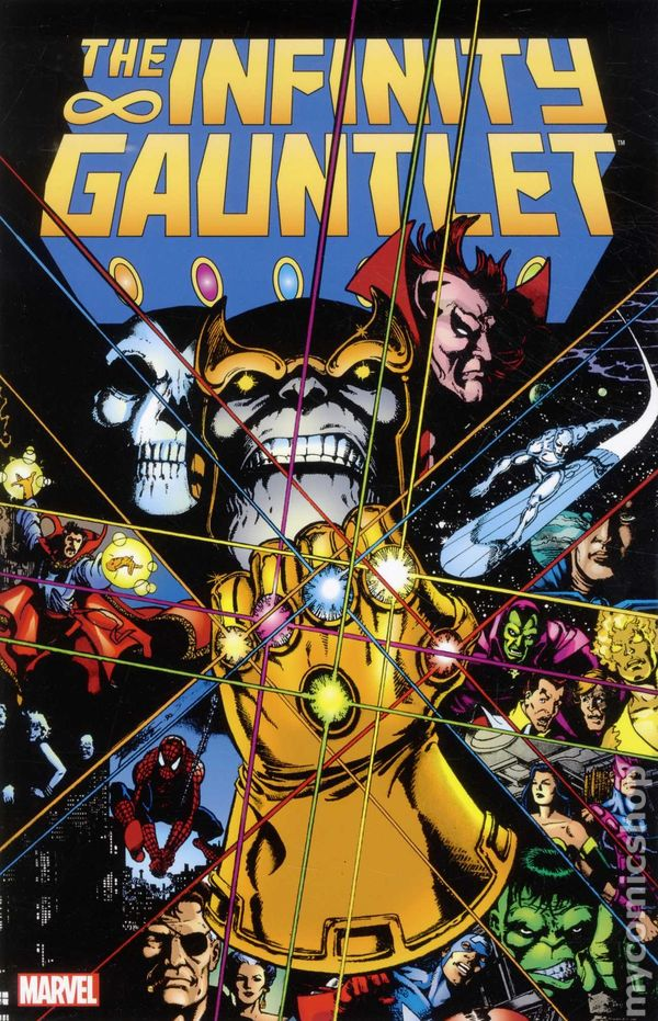 Infinity Gauntlet TPB 3rd Edition #1-REP