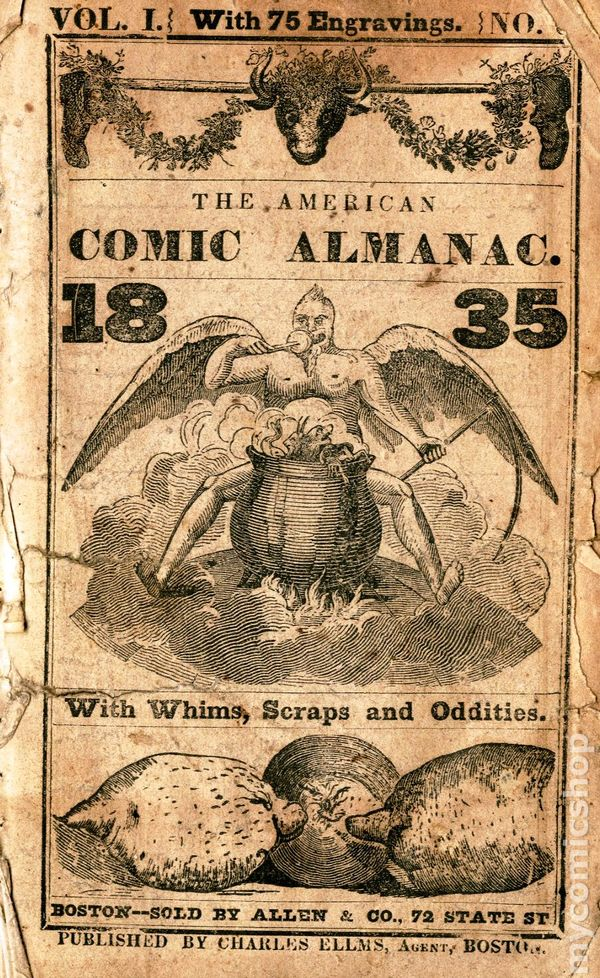 Comic Books In Victorian Age