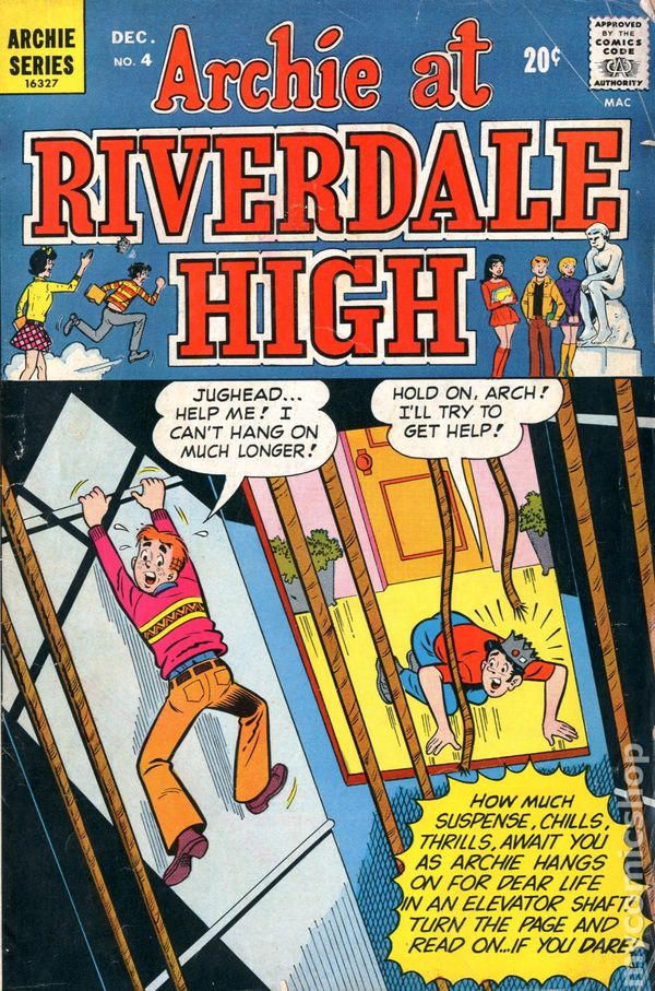 Archie at riverdale high 1972 national diamond comic books for Upullandpay