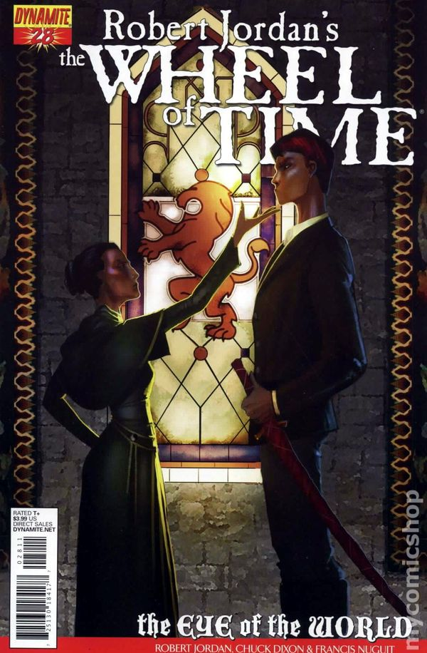 Comic Books In Wheel Of Time Comic