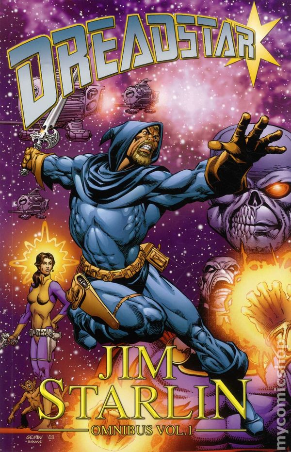 Dreadstar Omnibus TPB (2012 Dynamite) comic books
