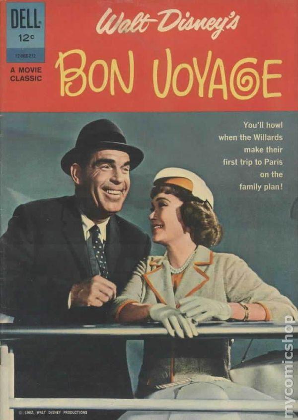Gold For Cash >> Bon Voyage (1962 Movie Classics) comic books