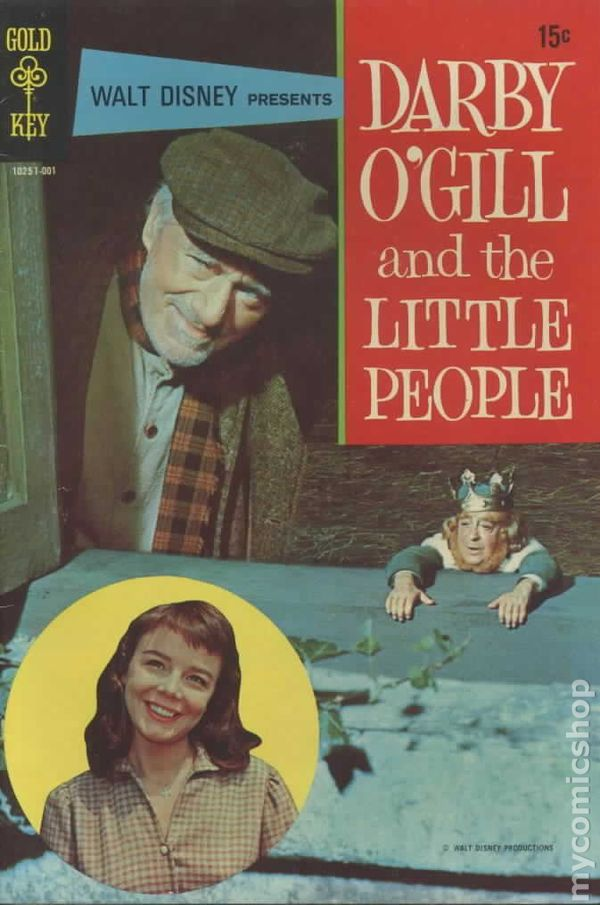 darby o u0026 39 gill and the little people  1970 movie comics