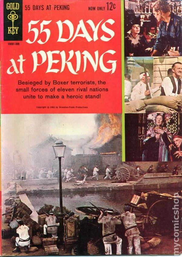 55 days at peking 1963 movie comics comic books